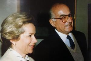 Bernadette et Charles Burrus